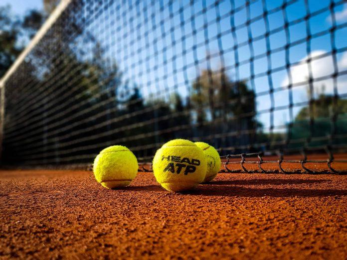 tennis and children